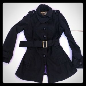 Jackets & Blazers - B&B Couture wool belted  jacket/coat